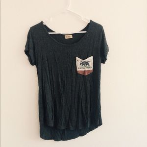 Tops - cali love bear surf shirt